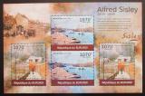 Poštovní známky Burundi 2012 Umění, Alfred Sisley DELUXE Mi# 2323-24 Kat 10€