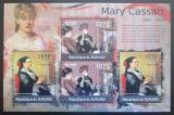 Poštovní známky Burundi 2012 Umění, Mary Cassatt DELUXE Mi# 2331-32 Kat 10€