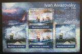 Poštovní známky Burundi 2012 Umění, Ivan Ajvazovskij DELUXE Mi# 2340,2342 Kat 10€
