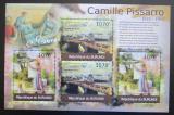 Poštovní známky Burundi 2012 Umění, Camille Pissarro DELUXE Mi# 2343-44 Kat 10€