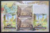 Poštovní známky Burundi 2012 Umění, Camille Pissarro DELUXE Mi# 2345-46 Kat 10€