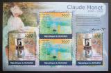 Poštovní známky Burundi 2012 Umění, Claude Monet DELUXE Mi# 2355,2357 Kat 10€