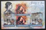 Poštovní známky Burundi 2012 Jana z Arku DELUXE Mi# 2290-91 Kat 10€