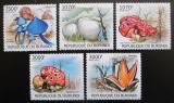 Poštovní známky Burundi 2012 Jedovaté houby Mi# 2743-47 Kat 10€