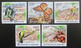 Poštovní známky Burundi 2012 Ohrožená zvířata Mi# 2580-84 Kat 10€
