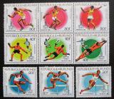 Poštovní známky Burundi 1980 LOH Moskva Mi# 1540-48 Kat 30€