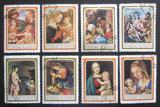 Poštovní známky Burundi 1968 Umění, vánoce Mi# 458-65
