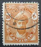 Poštovní známka Zanzibar 1936 Sultán Mi# 180