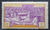 Poštovní známka Guadeloupe 1928 Rafinérie na cukrovou třtinu Mi# 96