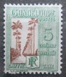 Poštovní známka Guadeloupe 1928 Doplatní SC# J27