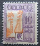 Poštovní známka Guadeloupe 1928 Doplatní SC# J28