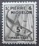 Poštovní známka St. Pierre a Miquleon 1938 Treska obecná, doplatní Mi# 32