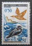 Poštovní známka St. Pierre a Miquleon 1963 Ptáci Mi# 398