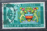 Poštovní známka Malawi 1964 Státní znak Mi# 18