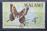 Poštovní známka Malawi 1966 Papilio ophidicephalus Mi# 37