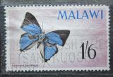 Poštovní známka Malawi 1966 Epamera handmani Mi# 39