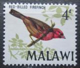 Poštovní známka Malawi 1968 Amarant malý Mi# 95