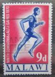 Poštovní známka Malawi 1970 Běžec Mi# 129