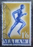 Poštovní známka Malawi 1970 Běžec Mi# 130