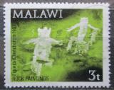Poštovní známka Malawi 1972 Skalní malba Mi# 182