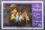 Poštovní známka Malawi 1974 Vánoce, umění, Grebber Mi# 226