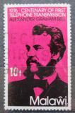 Poštovní známka Malawi 1976 Alexander Graham Bell Mi# 260