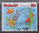 Poštovní známka Malawi 1980 Vánoce, dětská kresba Mi# 353