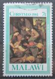 Poštovní známka Malawi 1981 Vánoce, umění, Murillo Mi# 368