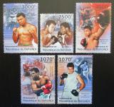 Poštovní známky Burundi 2012 Muhammad Ali, box Mi# 2295-95 Kat 10€