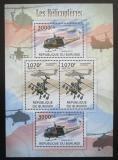 Poštovní známky Burundi 2012 Helikoptéry Mi# 2471,2473 Kat 10€