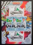 Poštovní známky Burundi 2012 Formule 1 DELUXE Mi# 2466,2468 Kat 10€