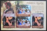 Poštovní známky Burundi 2012 Umění, Frédéric Bazille DELUXE Mi# 2359-60 Kat 10€