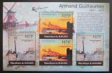 Poštovní známky Burundi 2012 Umění, Armand Guillaumin DELUXE Mi# 2363-64 Kat 10€