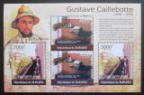 Poštovní známky Burundi 2012 Umění, Gustave Caillebotte Mi# 2373-74 Kat 10€