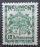 Poštovní známka Reunion 1933 Státní znak, doplatní Mi# 17