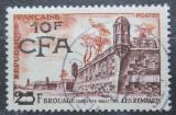 Poštovní známka Reunion 1955 Brouage přetisk Mi# 390