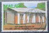 Poštovní známka Malawi 1989 Chalupa Mi# 537