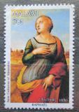 Poštovní známka Malawi 1990 Vánoce, umění, Raffael Mi# 563