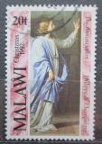 Poštovní známka Malawi 1992 Vánoce, umění Mi# 605
