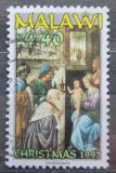 Poštovní známka Malawi 1997 Vánoce, umění Mi# 680