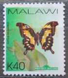 Poštovní známka Malawi 2007 Papilio pelodorus Mi# 788