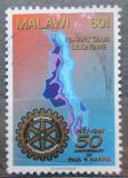 Poštovní známka Malawi 1997 Rotary Intl. Mi# 670