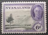 Poštovní známka Ňasko, Malawi 1945 Čajová plantáž Mi# 76