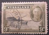 Poštovní známka Ňasko, Malawi 1945 Jezero Nyasa Mi# 77