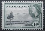 Poštovní známka Ňasko, Malawi 1953 Čajová plantáž Mi# 101
