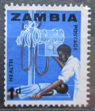 Poštovní známka Zambie 1964 Lékař s pacientem Mi# 2