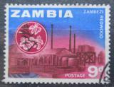 Poštovní známka Zambie 1964 Pila na řece Zambezi Mi# 7