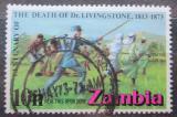 Poštovní známka Zambie 1973 David Livingstone Mi# 105