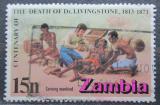 Poštovní známka Zambie 1973 David Livingstone Mi# 106