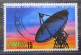 Poštovní známka Zambie 1974 Satelitní stanice v Mwembeshi Mi# 139